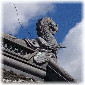 chinese dragon downspout